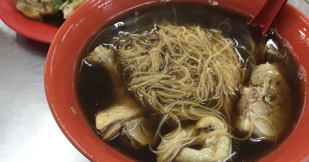 大甲鎮瀾宮隱藏美食推薦,40年老店的軟嫩豬腳與藥膳當歸湯,獨門滋味僅此一間!