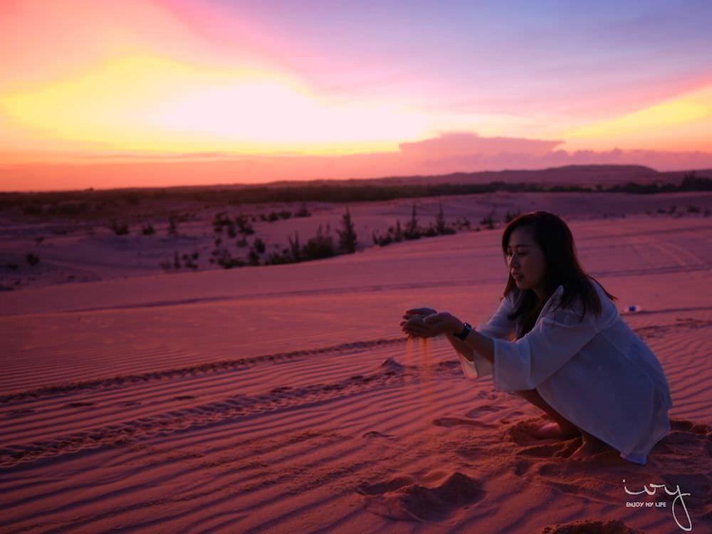 南景點,美奈白沙丘看日出