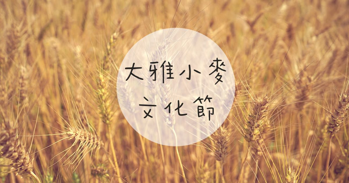 台中景點,2019大雅小麥文化節