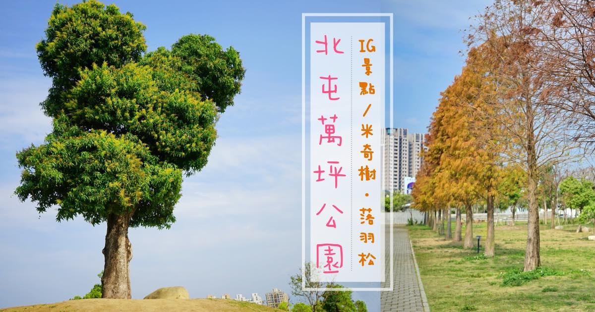 台中景點|北屯萬坪公園親子野餐地點推薦,落羽松大道已轉紅,建議先去大雅麥田,再來這野餐拍照!