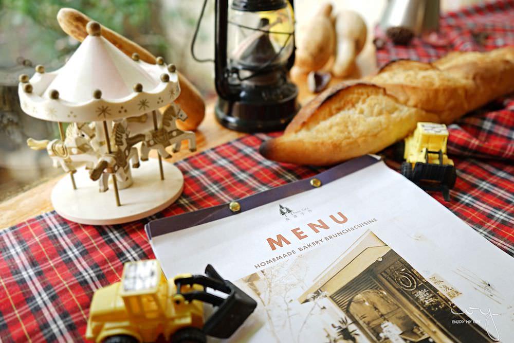台中西區早午餐,森渡手作廚房