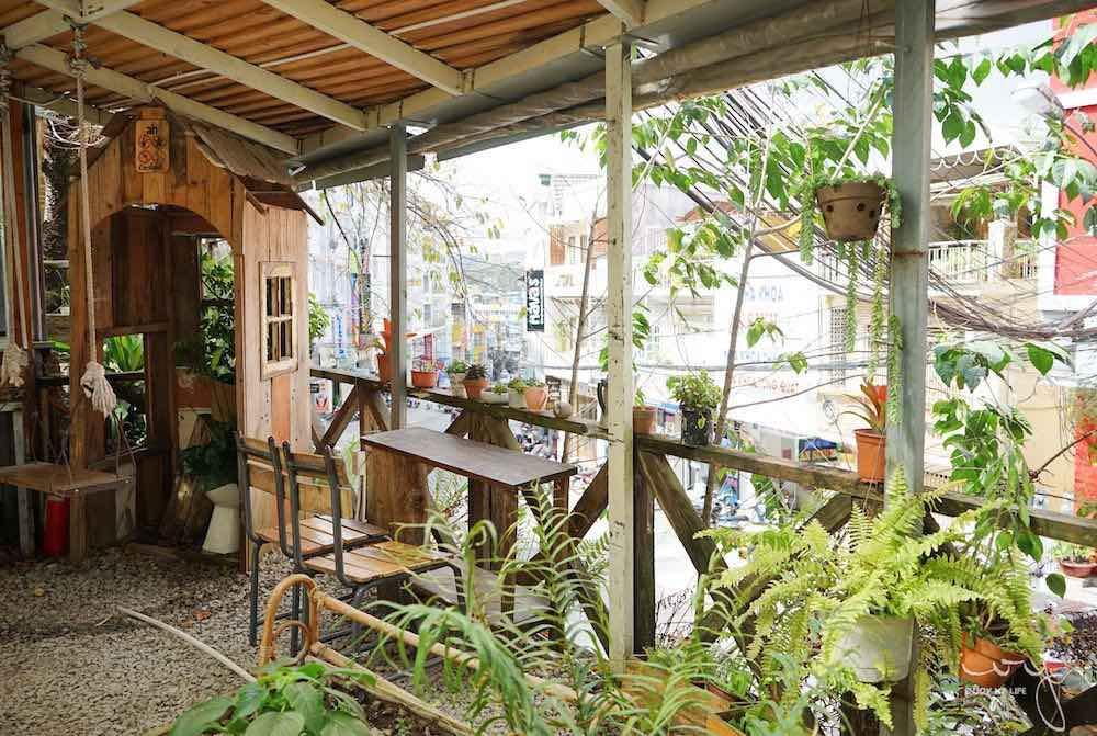越南大叻人氣An cafe咖啡廳