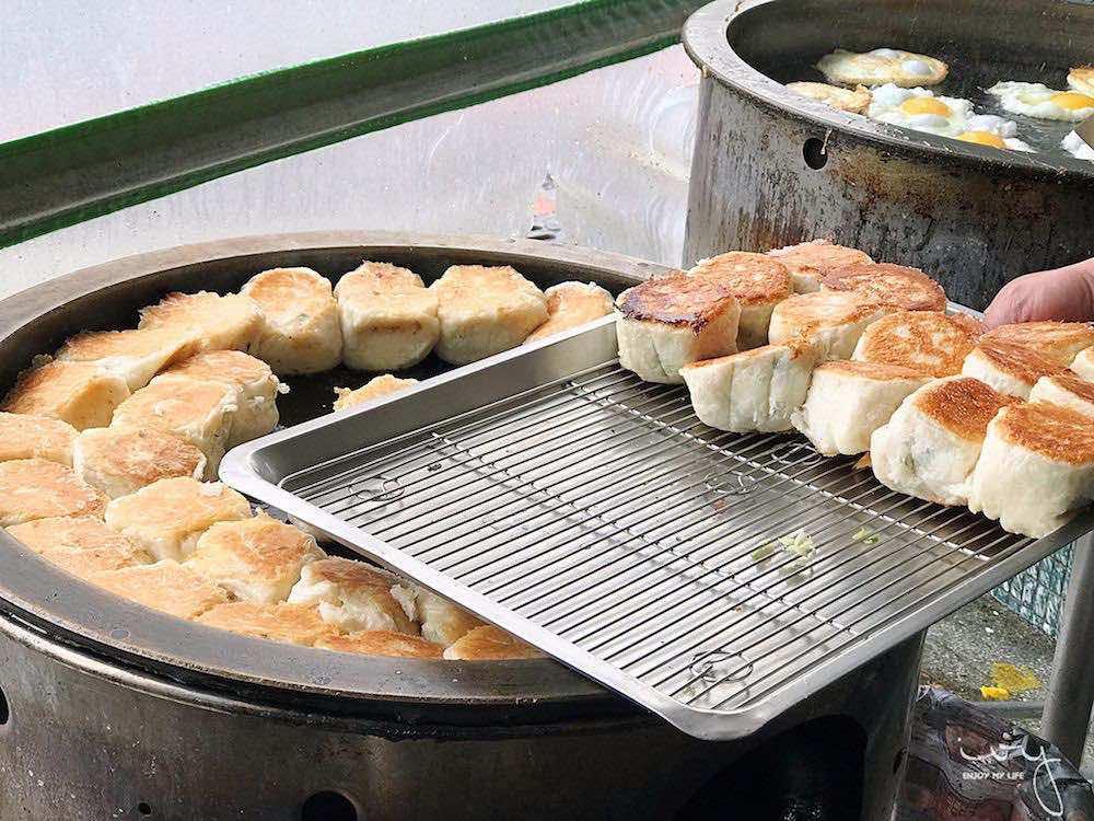 台中國圖館旁的傳統早餐,陳記早點