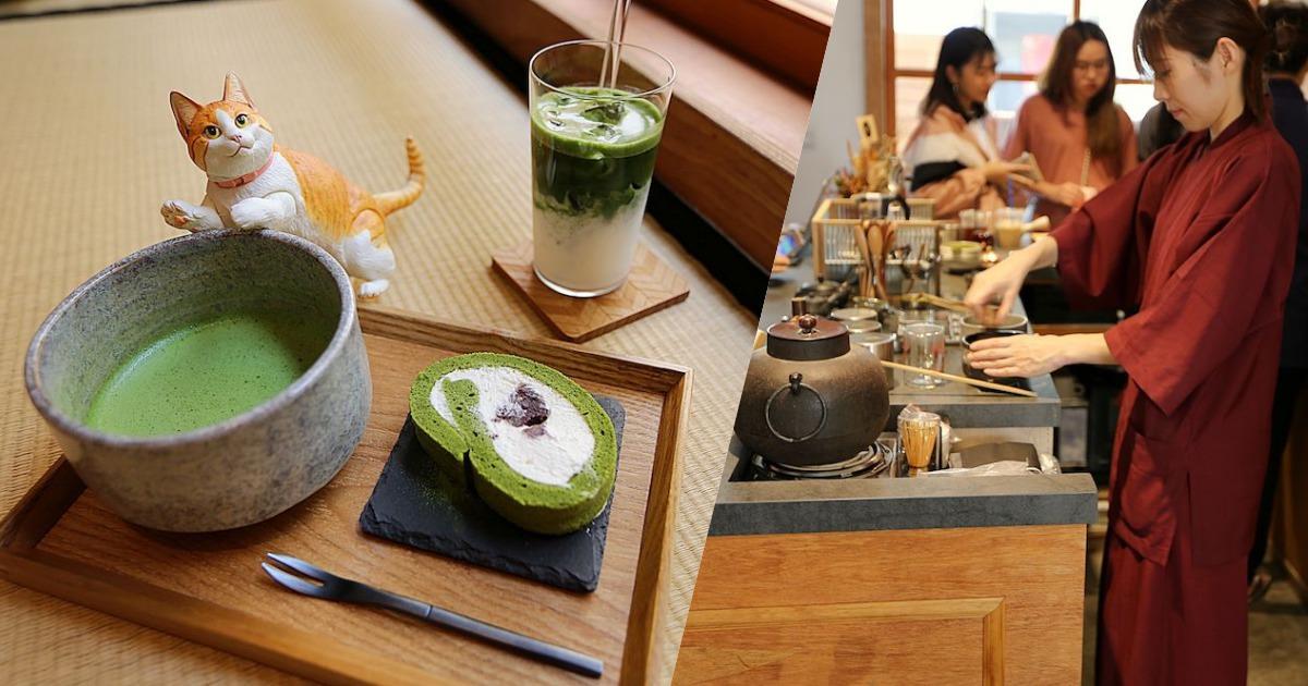 台中勤美誠品旁的職人手作抹茶與甜點,TokuToku-matcha&coffee|