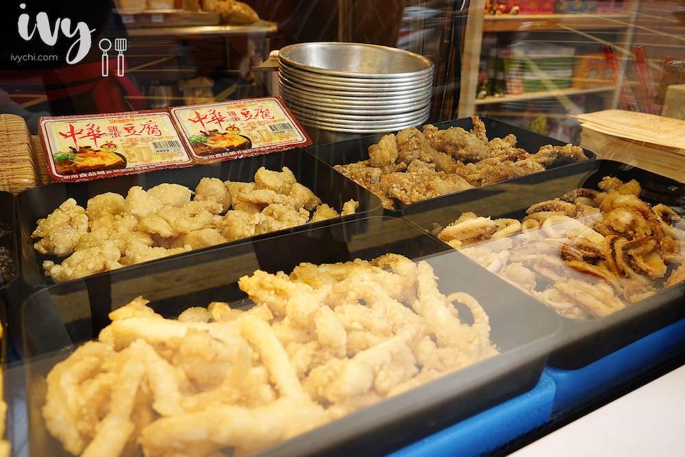 饗炸炸物食堂 東海總店|台中東海商圈宵夜營業到凌晨一點的人氣炸物,獨門蒜香醬汁超入味,還有煉乳銀絲卷和炸湯圓,甜鹹炸物一次滿足!