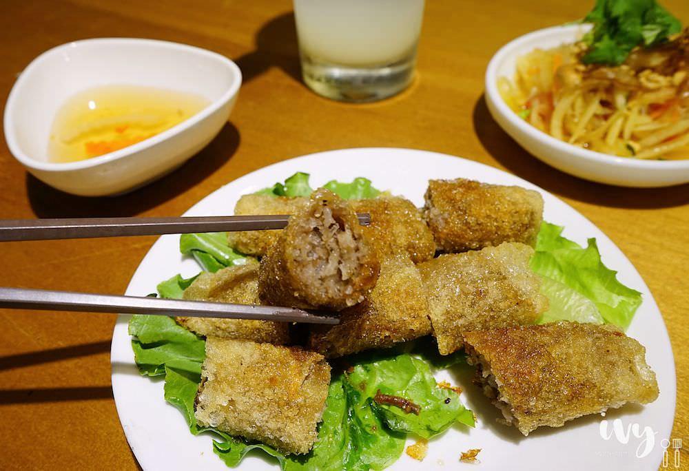 花越香越式料理 走進台中森林系越南餐廳,大片花牆任你拍,清甜爽口的味道很開胃!