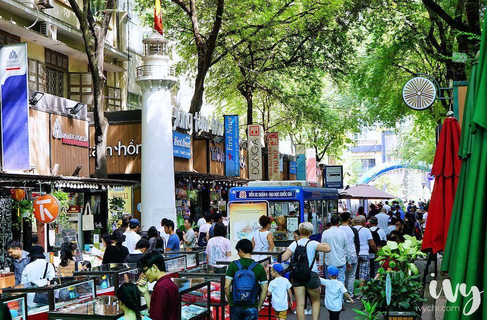 越南景點 胡志明市百年法式情懷紅教堂、西貢中央郵局和文青風必踩的綠蔭書店街!