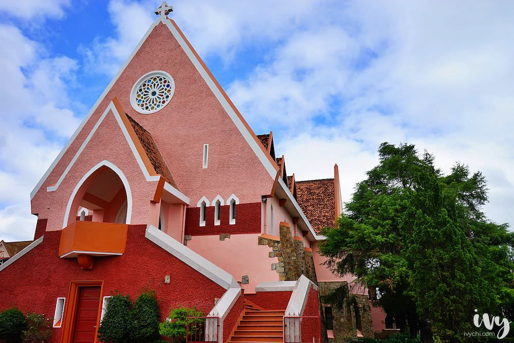 瑪利亞修道院Domaine de Marie|號稱越南大叻粉紅教堂,小清新美照的專屬拍攝地景點!