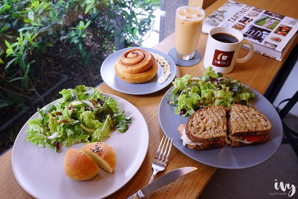 BOSKE BAKERY CAFE咖啡麵包坊|免飛舊金山,在台中北屯就可吃到酸種麵包,還提供生酮飲食、南非國寶茶,讓你一次享用安心健康的早午餐!