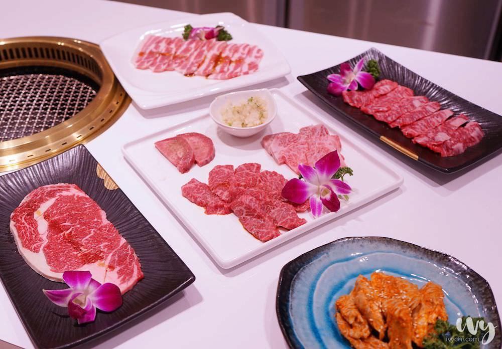 華屋燒肉|台中精誠路老宅燒肉店,推出4種超高CP值個人套餐,一次吃到日美澳牛、佐餐酒品、海鮮、甜點,大大滿足!