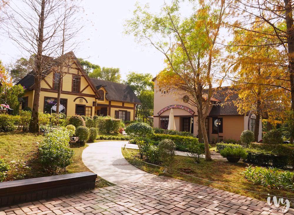 心之芳庭 台中大坑熱門景點,小南法歐風浪漫建築與戶外婚宴場地,一次拍個夠!