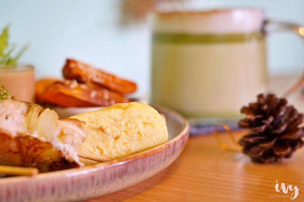 森渡手作廚房  台中西區精誠路早午餐推薦,不用200多就有舒芙蕾+日式早餐盤+飲品!