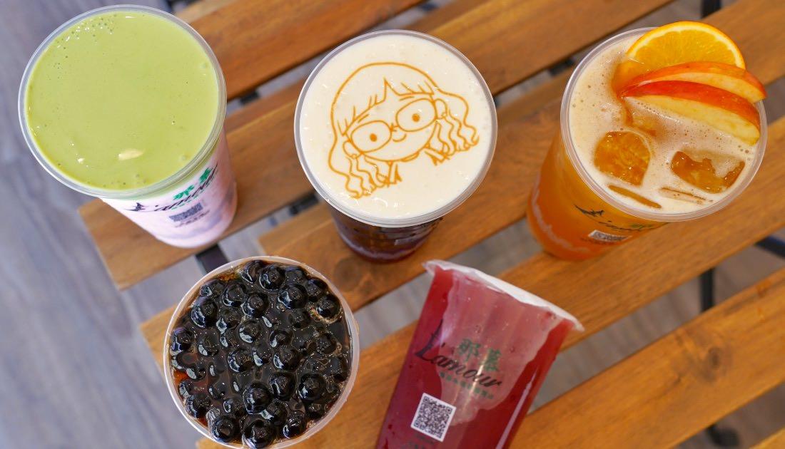 那慕軍福店 |台中北屯飲料,主打水果茶和4種奶蓋,還可印上專屬照片或愛語!