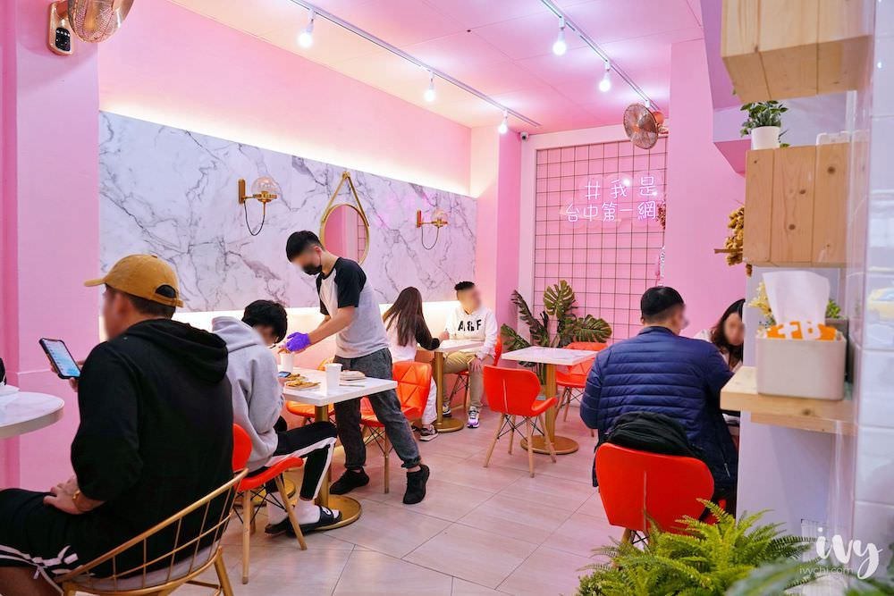 囍樂炭烤吐司 台中北區IG早午餐,近一中商圈、中華夜市、中國醫