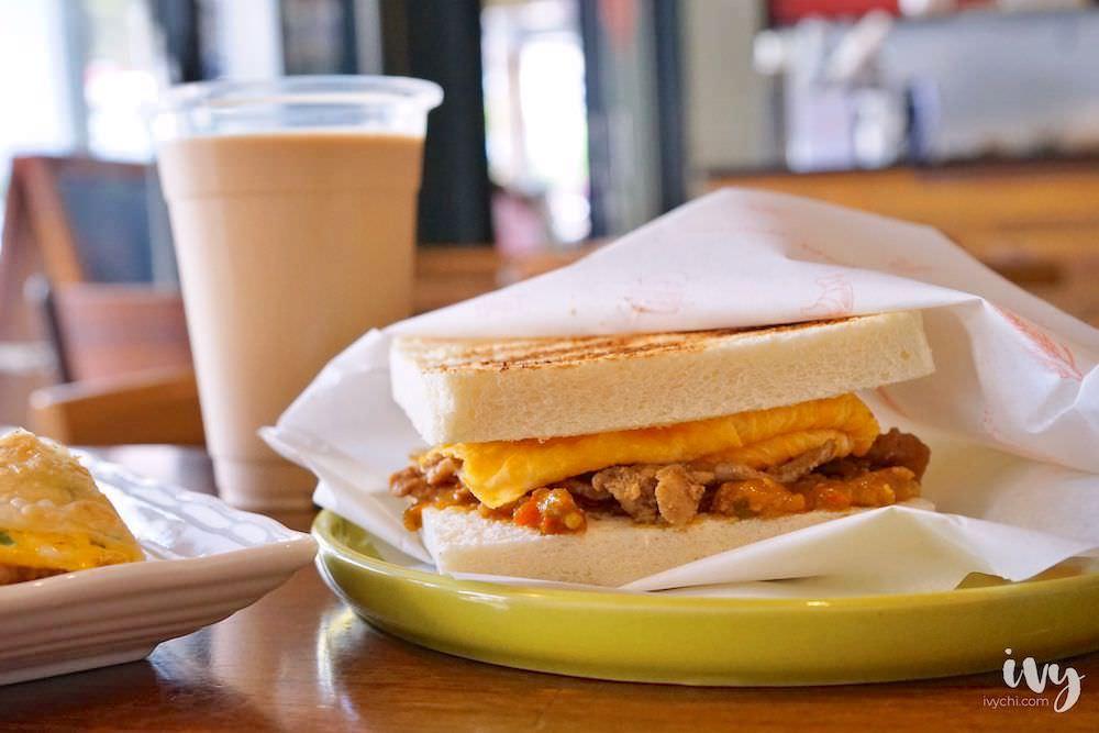 朝氣美濃商行 台中中國醫早午餐,必推蛋餅和吐司