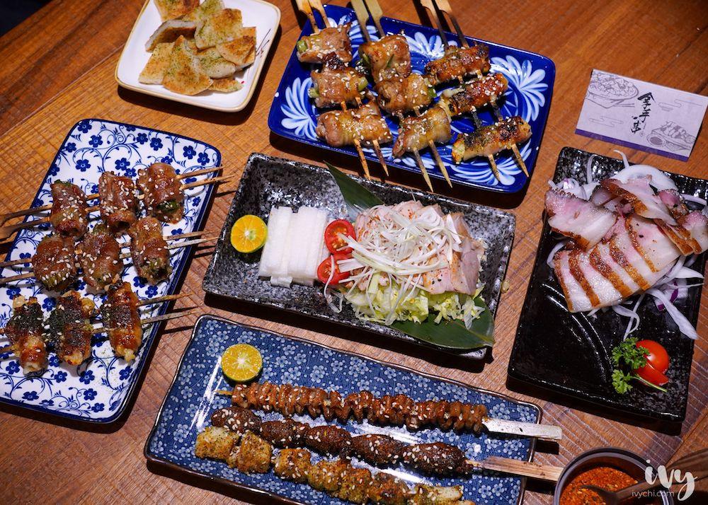 拿手串日式串燒居酒屋  台中北區高CP值日式居酒屋推薦,25種串燒和關東煮選擇,還有浴衣體驗唷!
