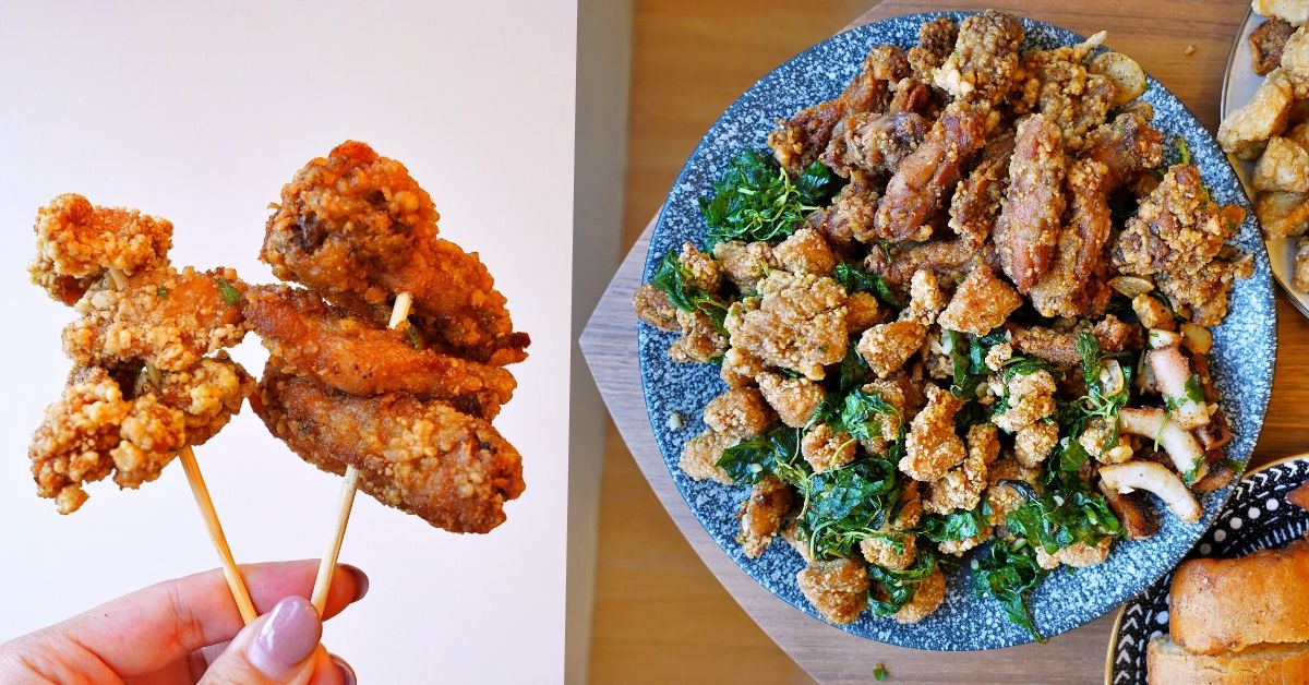 熊掌香雞排鹹酥雞 |台中西區美食,獨家醬汁醃製雞排、鹹酥雞,份量豪氣!近美術園道