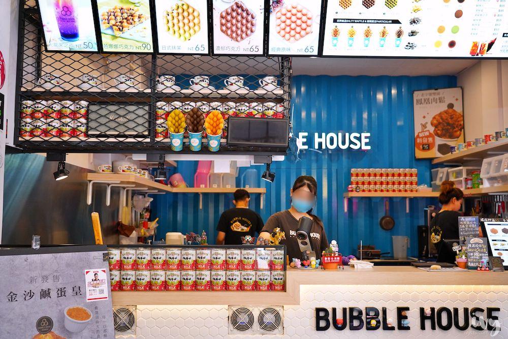 波波食堂雞蛋仔 |台中北區甜點,Dyson吹出獨家口味雞蛋仔+夢幻氣泡飲,吸睛又美味!