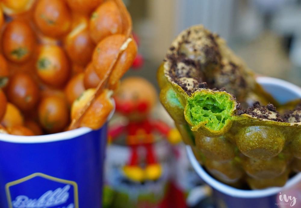 波波食堂雞蛋仔 台中北區甜點,Dyson吹出的雞蛋仔+夢幻氣泡飲