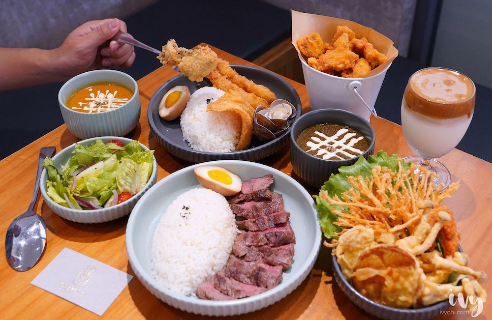 哩賀海鮮咖哩專賣店  台中北區寵物友善餐廳,堅持手炒咖喱加爆量牛肉,值得細細品嚐!