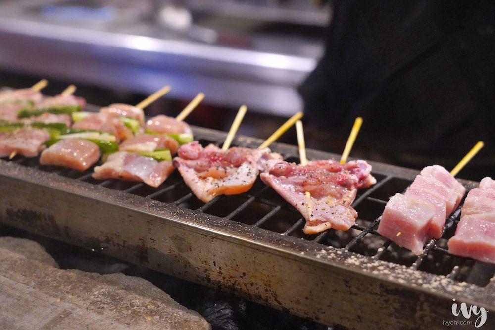 草津田日式串燒  台中北區居酒屋,價格平實串燒料理,宵夜小酌必點雪花豬、五花飯糰!