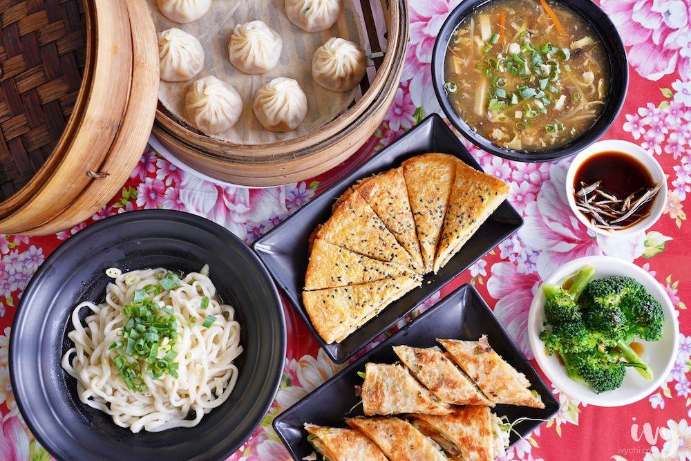 鮮見麵 |台中大里美食,平價好吃爆汁小籠包、經典沒麵、當日現擀綠豆鍋餅和捲餅,搶攻小資族市場!