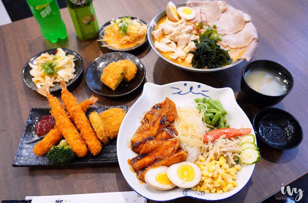 兆曜日式拉麵丼飯 |台中大里美食,浮誇巨無霸拉麵和肥厚鰻魚丼飯,內用還免費加麵,假日一位難求!