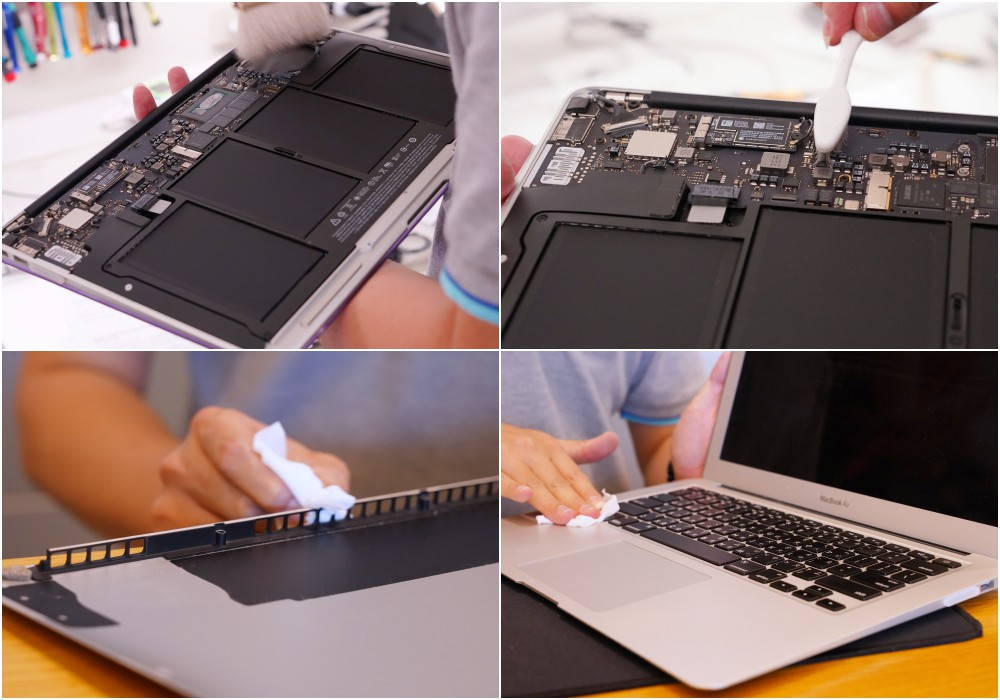 MacBook內部灰塵清理-逢甲Mac維修推薦