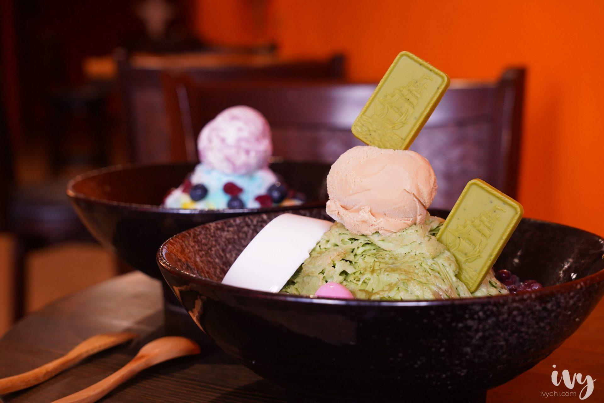 大芳文自助冰  台中南區創意冰店,15種口味任君挑選,必吃超多料的抹茶雪花冰!
