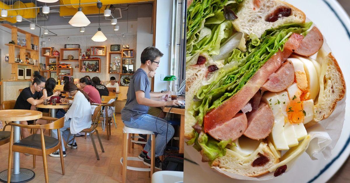 Café Sora |台中教育大學旁的不限時咖啡廳,附早午餐、鬆餅,午後人超多,建議提早前往!