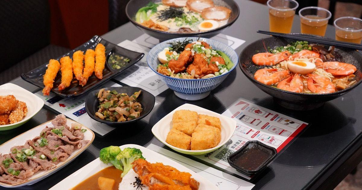 大勝食堂 |台中大里平價拉麵丼飯90元起,必點每日限量的6隻蝦醬油海老拉麵!11
