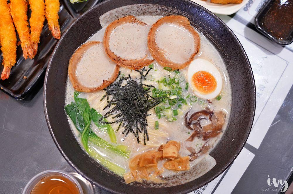 大勝食堂  台中大里平價拉麵丼飯90元起,必點每日限量的6隻蝦醬油海老拉麵!