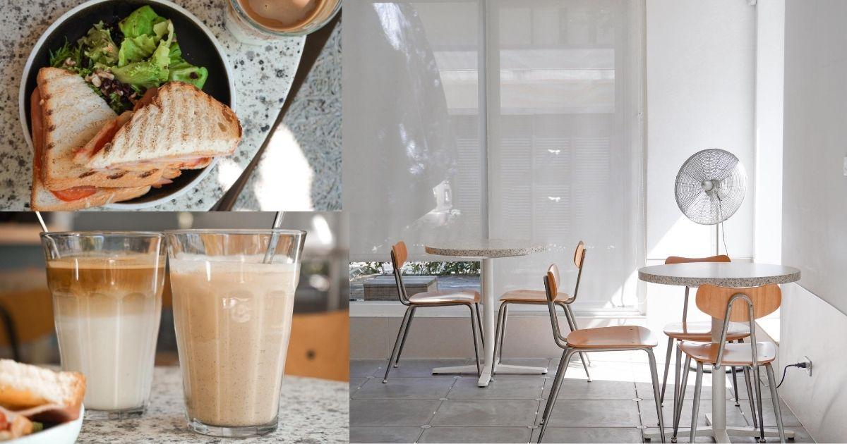Solidbean Coffee Roasters |台中精明商圈純白系咖啡館,不限時有插座WiFi,文青質感窗景超療癒!