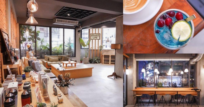 Zeller Coffee&Japancart |台中南屯不限時附插座餐廳,結合早午餐、甜點及文青小物的複合式咖啡廳!17