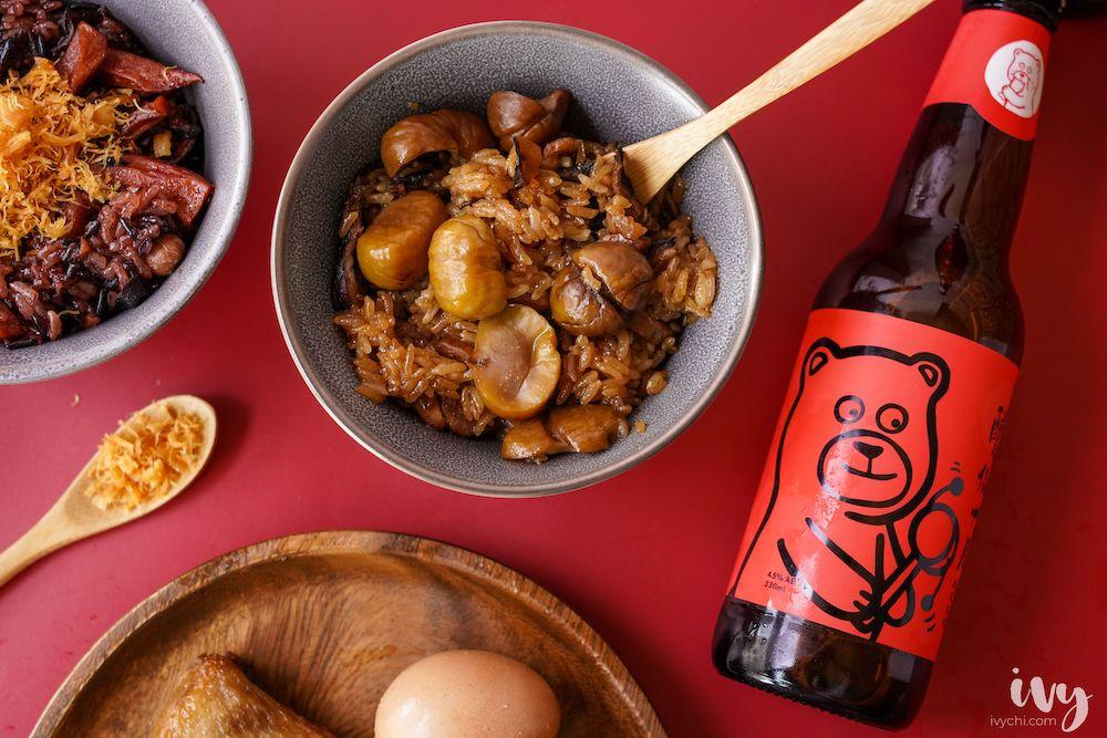 2020彌月禮盒推薦 |彌月油飯界的精品「福寶寶」干貝紅麴、堅果臘肉,傳遞幸福的彌月禮!