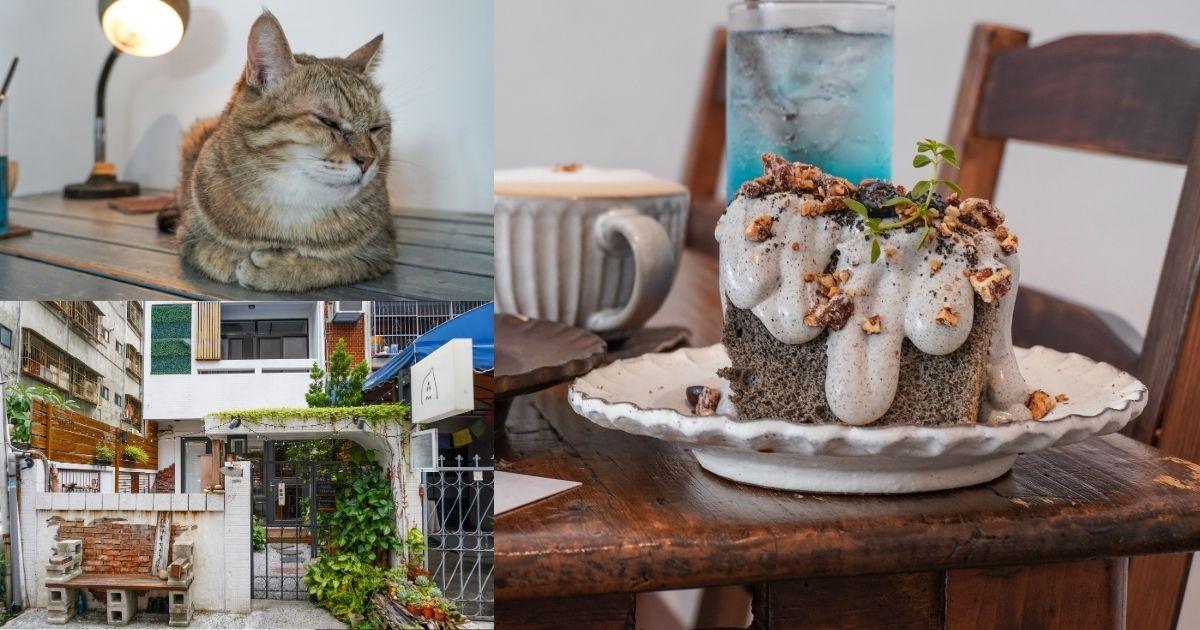 來森もり |台中西屯區IG打卡甜點,Q萌店貓陪你吃下午茶,必點浮誇戚風蛋糕、入口即化生乳酪!