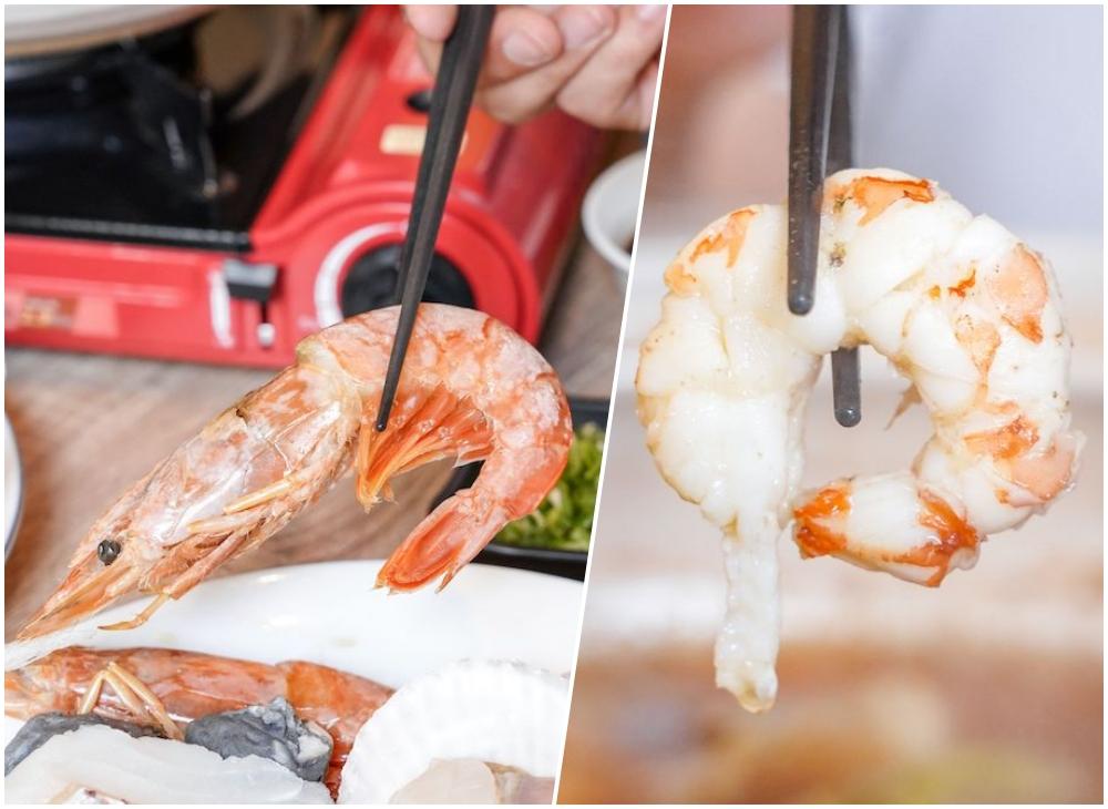 楓上屋 |台中北平路美食推薦,師傅傳承道地日式料理,冬季限量推出海陸雙拼火鍋,吃完還能煮成粥!