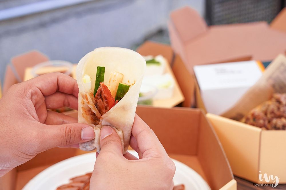 阿秋小肥鴨 |阿秋大肥鵝新品牌,櫻桃鴨烤鴨鹹酥兩吃法,外帶野餐新選擇!