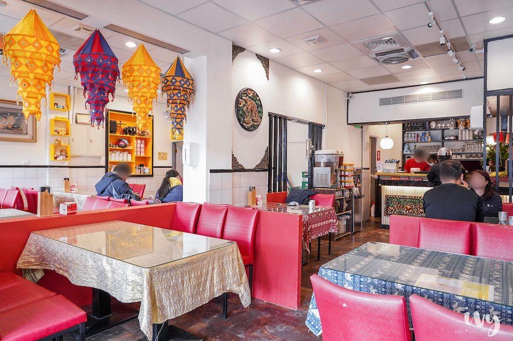曼谷小城 |台中永興街美食,主打平價泰式料理及99元商業午餐,吃飯時間人潮不少!