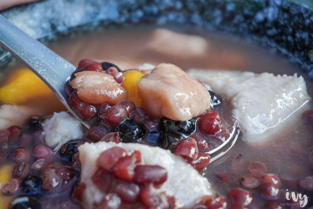 老芋仔芋圓 |大坑排隊美食,用料實在,芋頭扎實綿密,難怪在網路有著6千則的高評論!