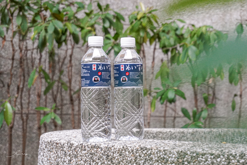 日本熊本熊代言礦泉水,原裝進口日本名水13度c甘甜軟水推薦,在全聯就買得到!