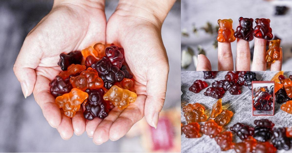 小熊軟糖 |螞蟻窩可愛造型熊軟糖,15種水果軟糖,果汁純度天然,越嚼越香甜