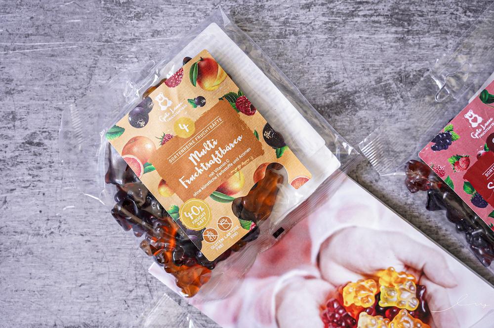 螞蟻窩德國甜心熊軟糖 |16種以上水果軟糖,還是可愛的小熊軟糖造型,果汁純度天然,越嚼越香甜