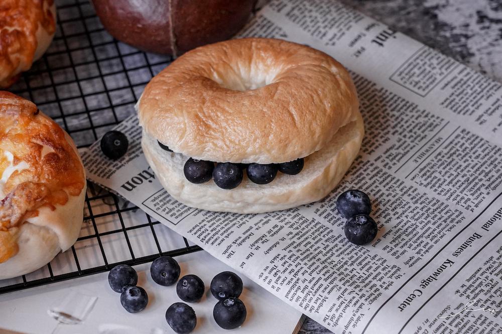卡莉Q胖貝果 |網購貝果推薦,厚實內Q的4種貝果口味,防疫在家早餐、下午茶宅配必買夯品!