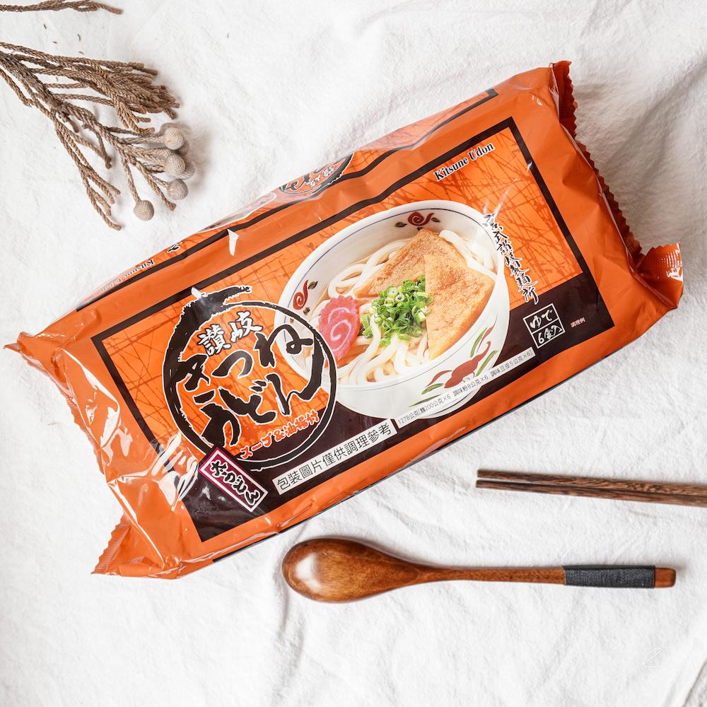2021好市多必買清單推薦:宮武讚岐豆皮烏龍麵,吃得到香甜的豆皮,一碗只要35元哦~