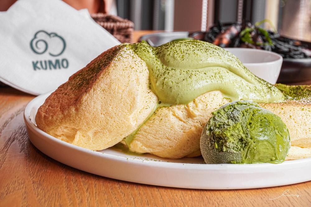 朵朵雲Kumo  台中大里美食,超好吃日式舒芙蕾,扎實綿密鬆餅香超滿足,還有特約停車場!