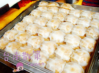 【台南中西區】台南外皮軟Q內餡肉質鮮甜肉圓 || 武廟肉圓