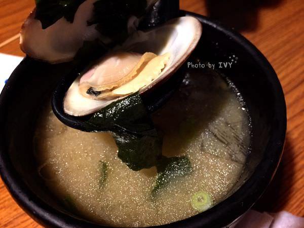 桀壽司 海大蛤魚頭味增湯
