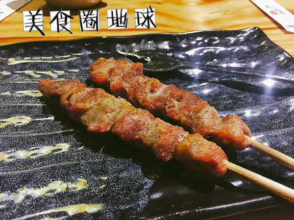 【台中西區】喝酒聊天的好去處~好吃串燒與一夜干的日式居酒屋 || 鳥重地雞燒バーベキュー