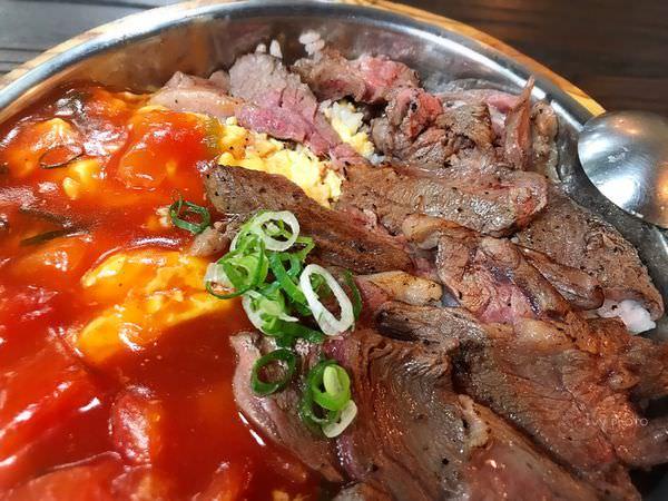 晨間朝食 極餓番茄滑蛋牛魔王